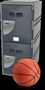 Grey 2 Door – School Locker