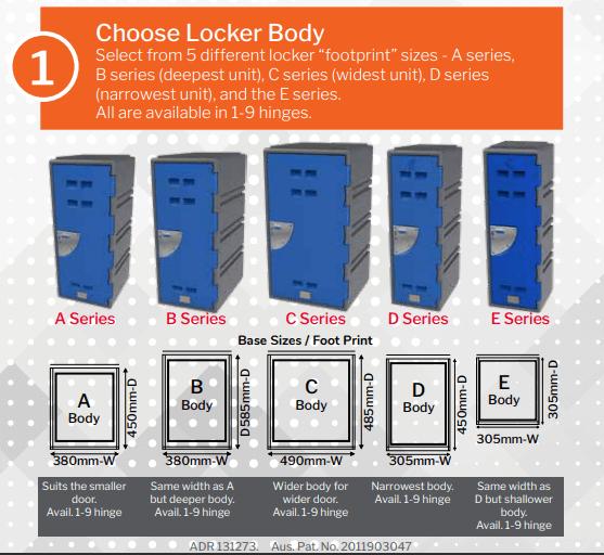 locker builder