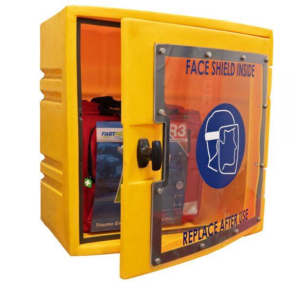 PPE Storage Cabinet Perspex door